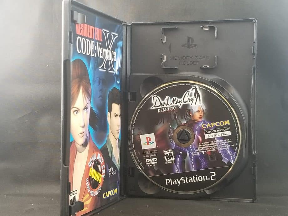 Resident Evil Code Veronica X Disc 1