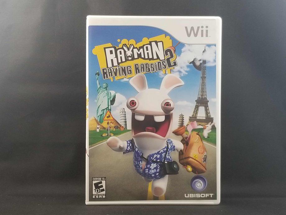 Rayman Raving Rabbids 2 Front