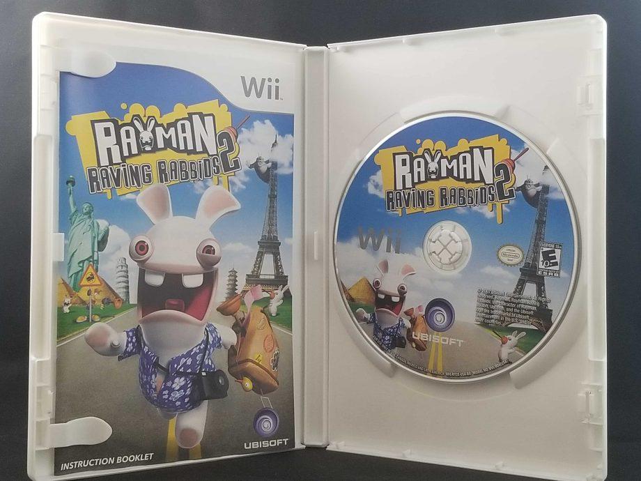 Rayman Raving Rabbids 2 Disc