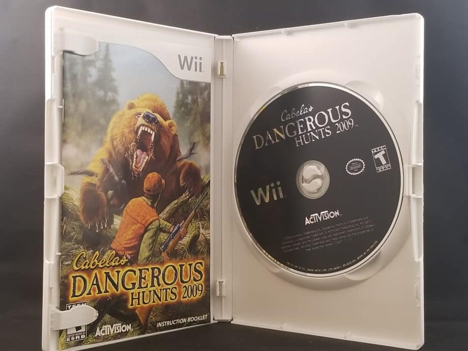 Cabela's Dangerous Hunts 2009 Disc