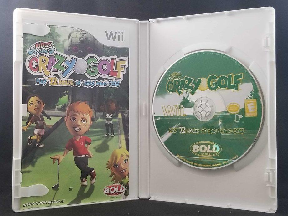 Kidz Sports Crazy Golf Disc