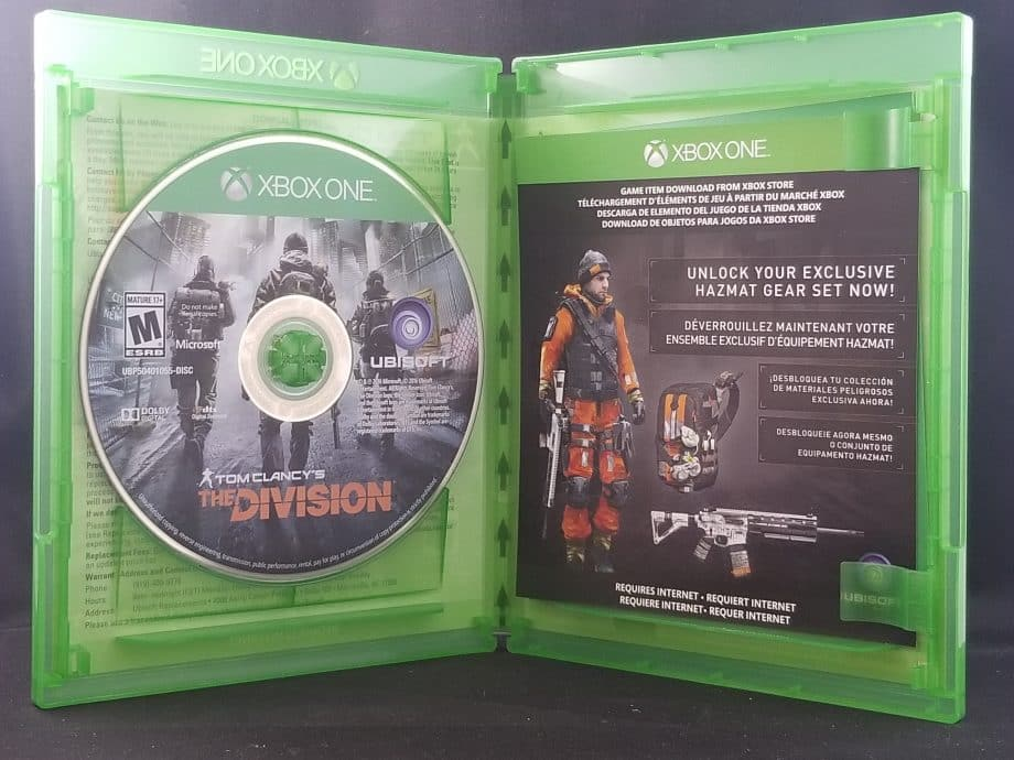 Tom Clancy's The Division Disc