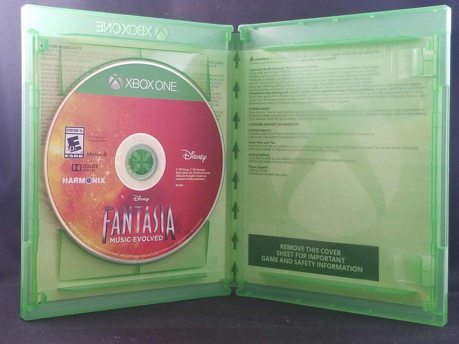 Fantasia Music Evolved Disc