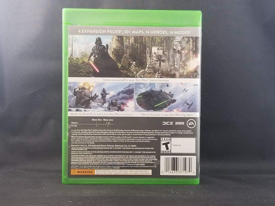 Star Wars Battlefront Ultimate Edition Back