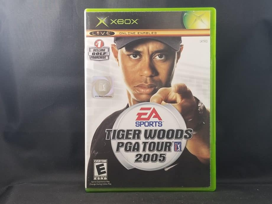 Tiger Woods PGA Tour 2005 Front