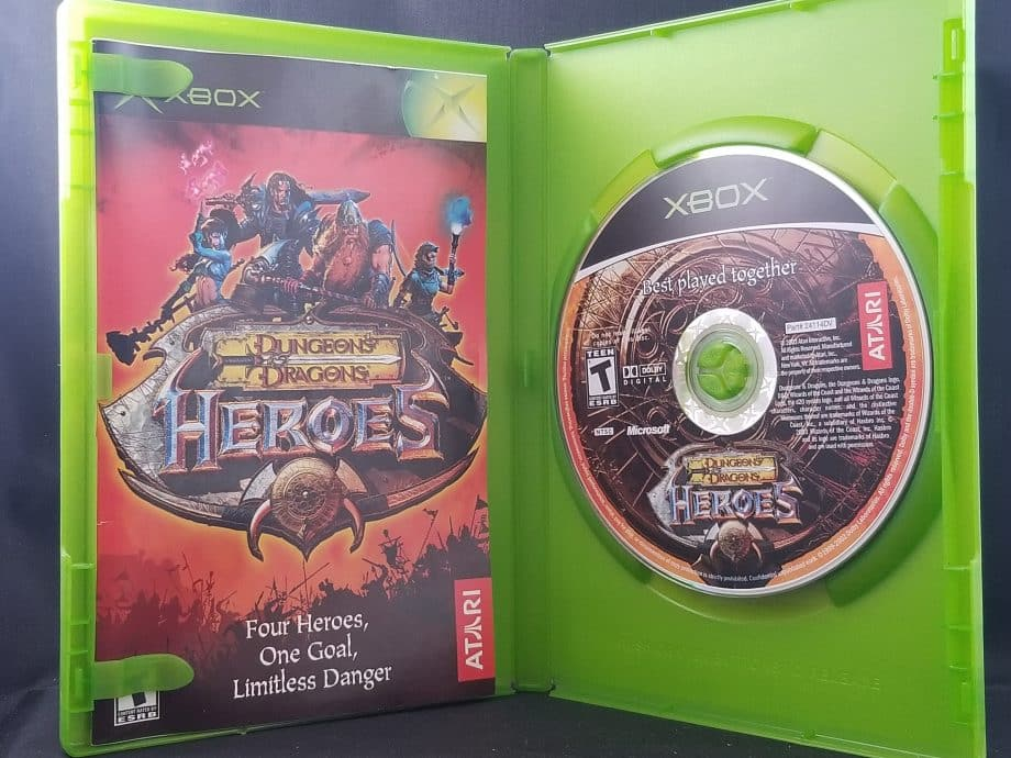 Dungeons & Dragons Heroes Disc