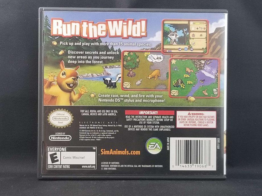 Sim Animals Back