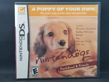 Nintendogs Dachshund And Friends Front