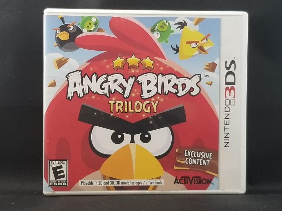 Angry Birds Trilogy Front