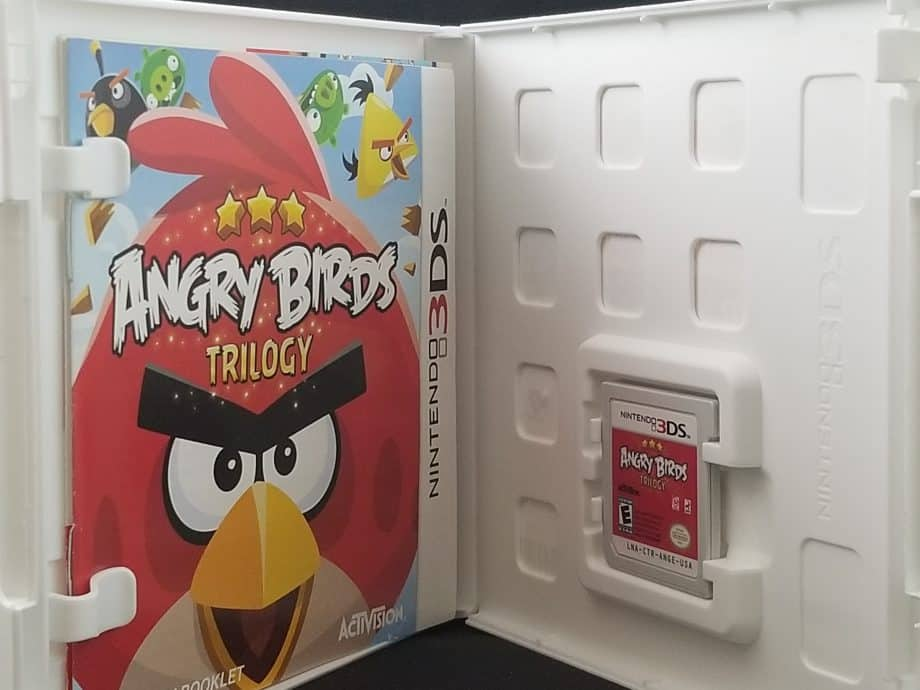 Angry Birds Trilogy Disc