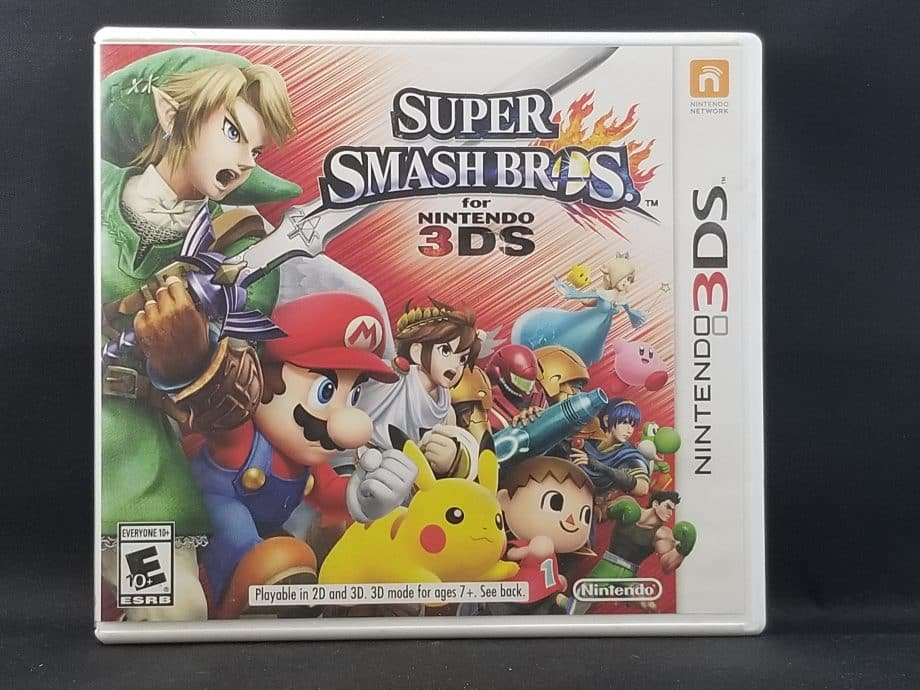 Super Smash Bros For Nintendo 3DS Front