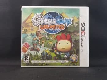 Scribblenauts Unlimited Front