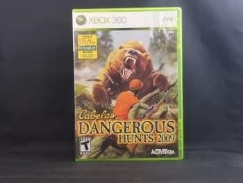 Cabela's Dangerous Hunts 2009 Front