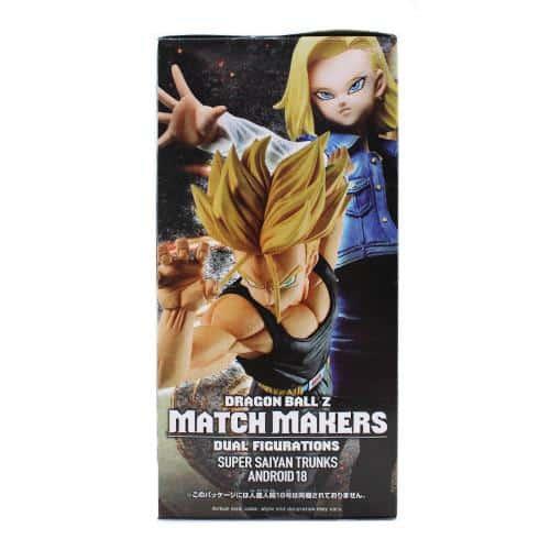 Dragon Ball Z Match Makers Super Saiyan Trunks Pose 3