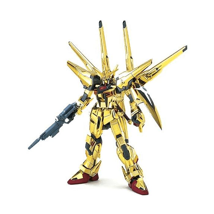 High Grade Shiranui Akatsuki Gundam Pose 1