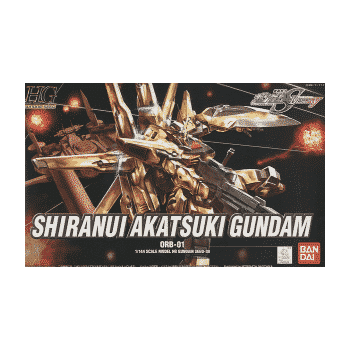 High Grade Shiranui Akatsuki Gundam Box