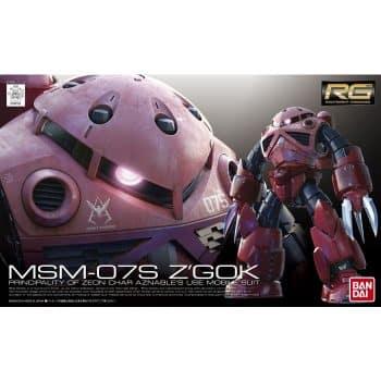 Real Grade MSM-07S Z'Gok Box