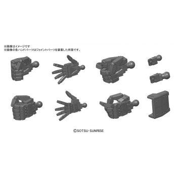 1/144 MS Hand 01 Dark Gray