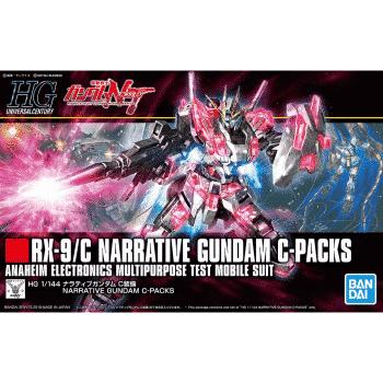 High Grade Narrative Gundam C-Packs Box
